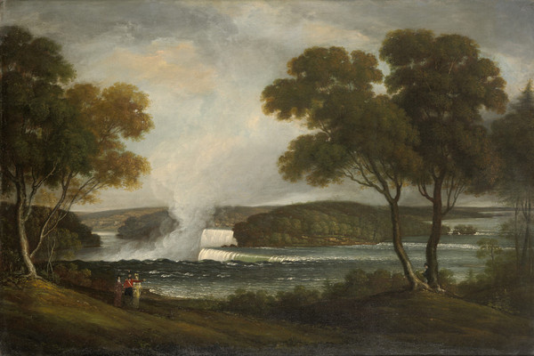 JOHN TRUMBULL 1807 Niagara Falls from an Upper Bank on the British Side Wadsworth Atheneum Museum of Art