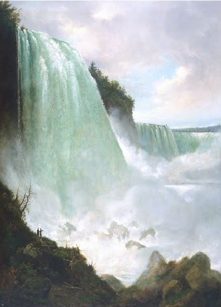 The Niagara River at the Cataract Gustav Grunewald, vers 1832, De Young Museum