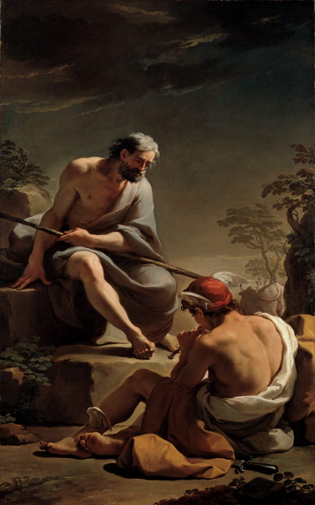Ubaldo Gandolfi 1770-75 Mercury-Lulling-Argus-to-Sleep North Carolina Museum of Art Raleigh