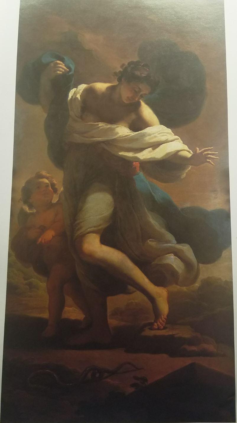 Ubaldo Gandolfi 1770 Eurydice mordue par un serpent coll priv