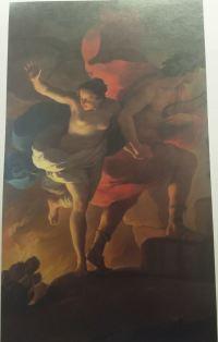 Ubaldo Gandolfi 1770 Orphee allant chercher Euridyce aux Enfers coll priv