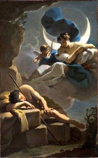 Ubaldo Gandolfi 1770 Selene et Endymion LACMA