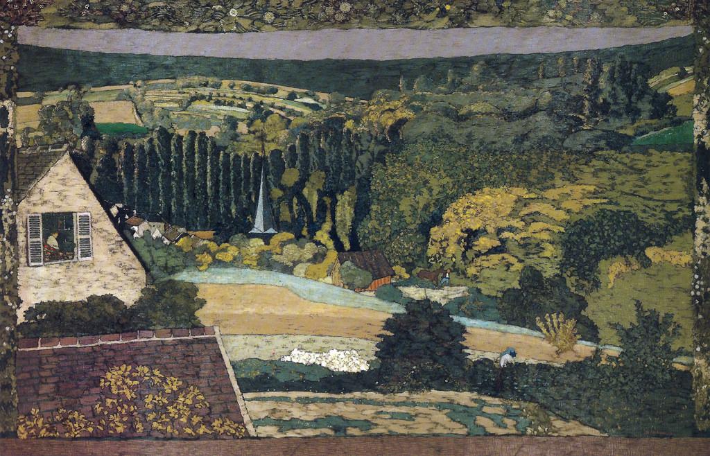 Vuillard 1899 Window Overlooking the Woods