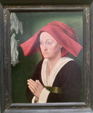 1470 ca Maitre de St Jean de Luze Portrait dit de Jeanne de Montaigu Musee des BA Dijon
