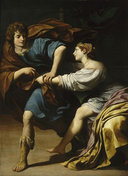 A Joseph et la femme de Putiphar - Leonello Spada 1610-15 Lille, Musee des Beaux-Arts,