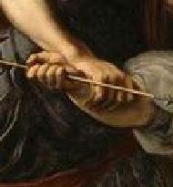 A Renaud et Armide Alessandro Tiarini 1610-15 Lille, Musee des Beaux-Arts detail,