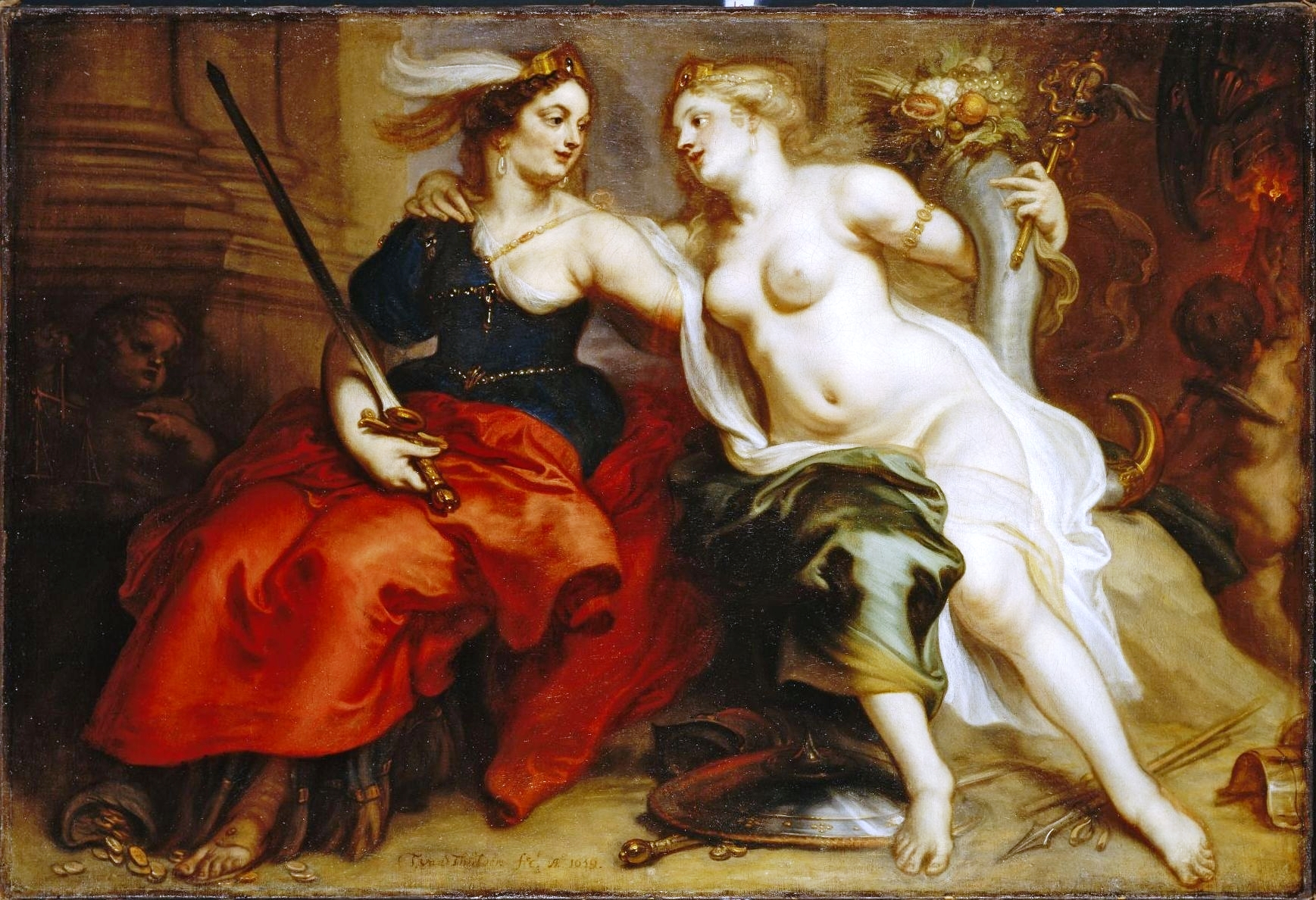 Allegory-of-Justice-and-Peace_Theodoor-van-Thulden_Baroque_allegorical-painting
