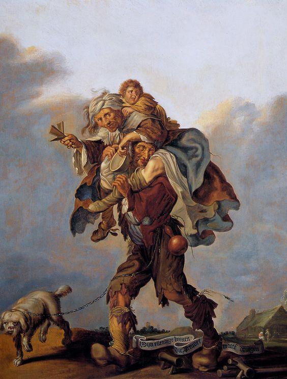 Allegory of Poverty ADRIAEN PIETERSZ VAN DE VENNE 1630-40 Allen Memorial Art Museum, Oberlin