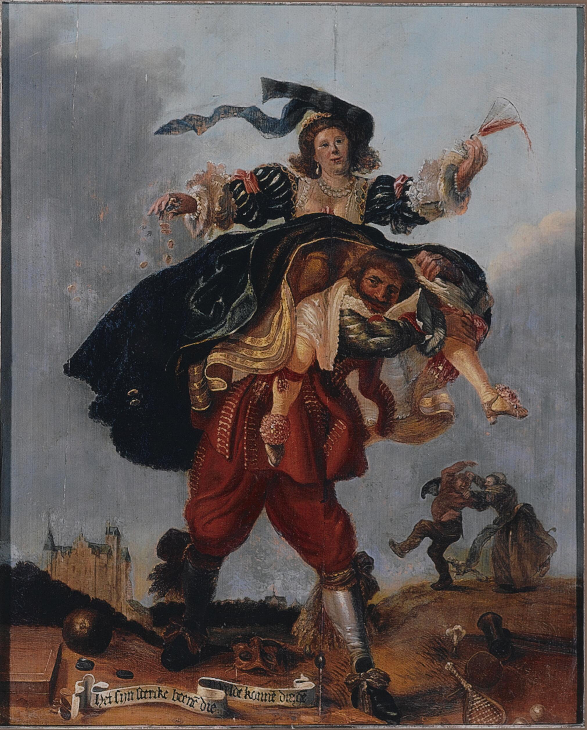 Allegory of Wealth ADRIAEN PIETERSZ VAN DE VENNE 1630-40 Musee Pouchkine Moscou