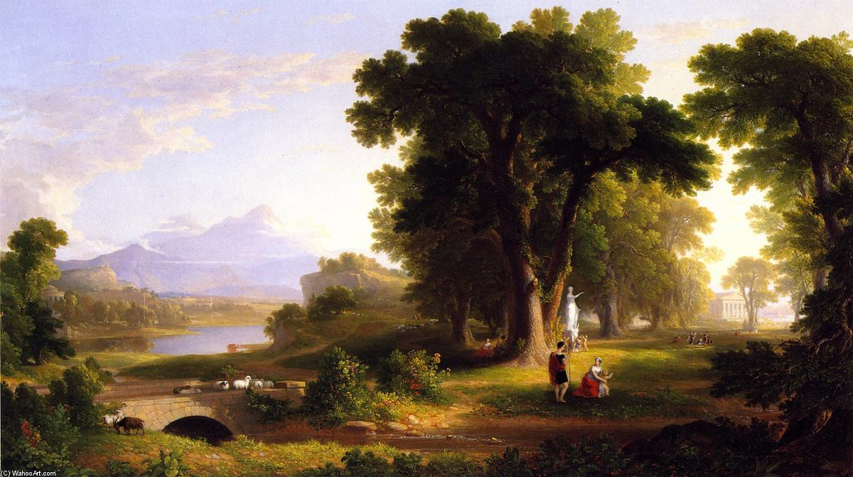 Asher-Brown.-Durand-The-Morning-of-Life 1840 The National Academy Museum and School of Fine Arts New York