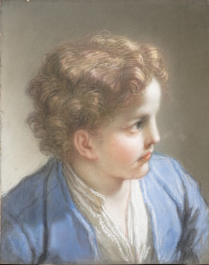 Study of a Boy in a Blue Jacket