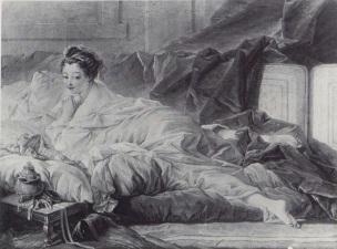 Boucher 1743 Odalisque coll priv