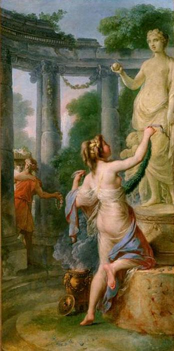 Callet 1778 Offrande a Venus musee des Beaux-Arts Rouen
