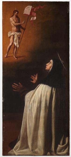 Cano Alonso Apparition du Christ triomphant a sainte Therese de Jesus 1629 Prado