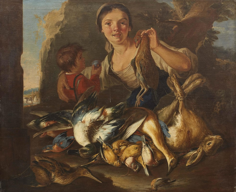 Cipper detto il Todeschini 1696 - 1736 Vnedeuse de gibier