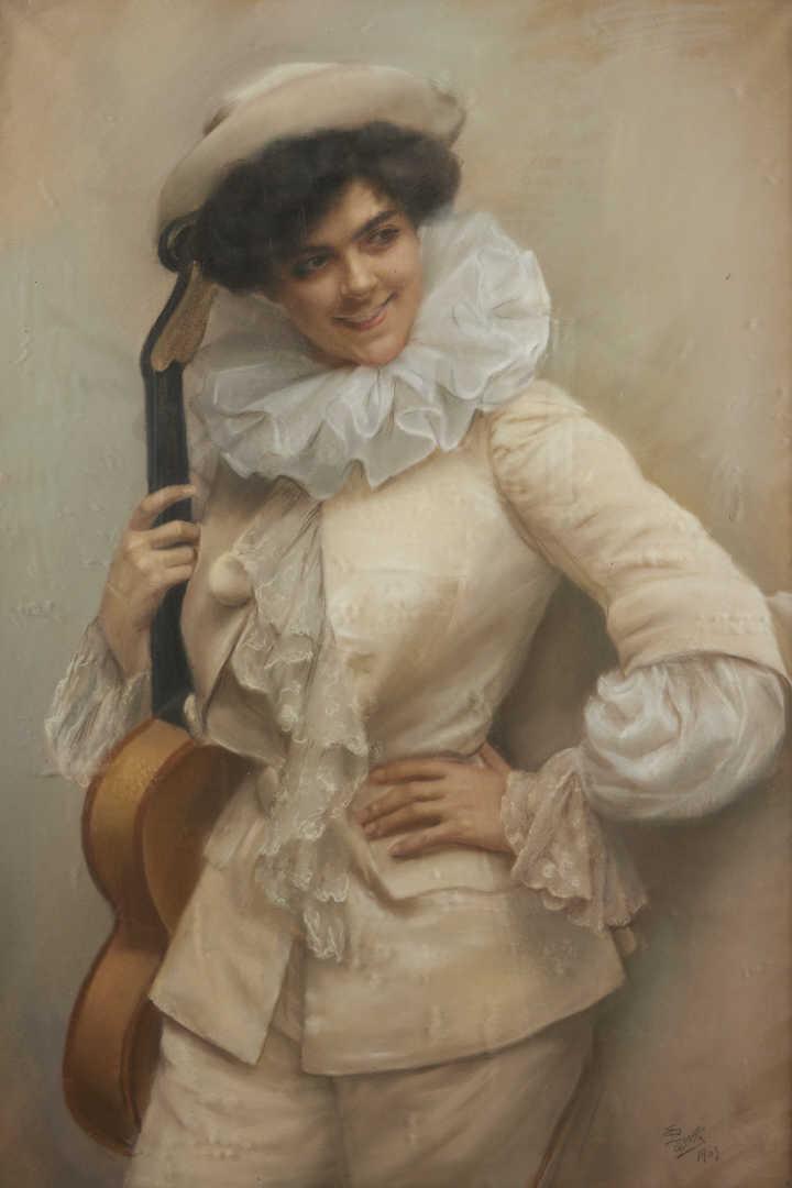 Edmundo Pizzella, Pierrot 1907