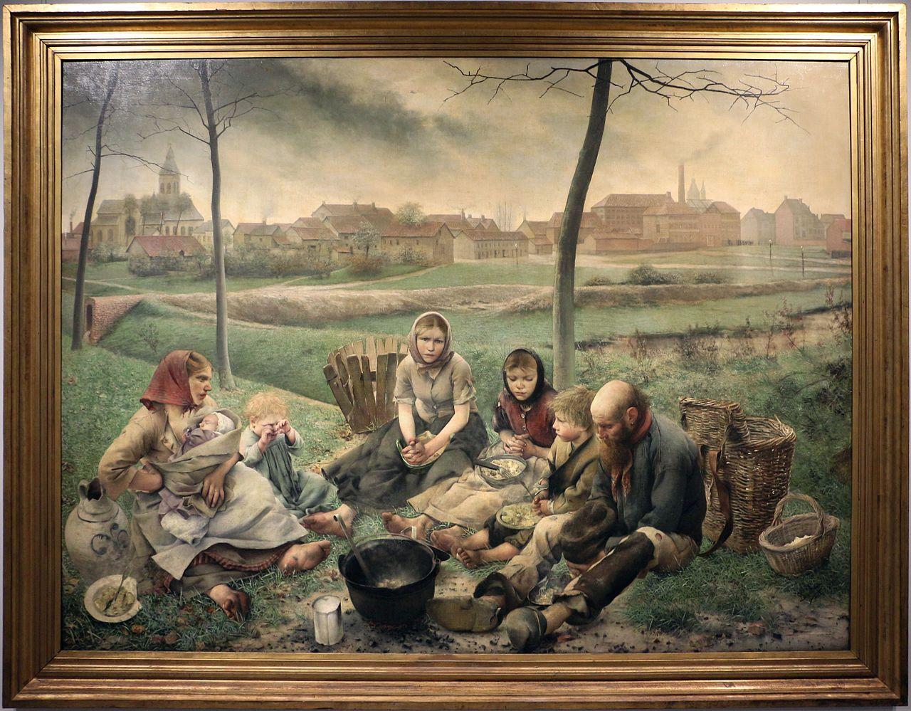 FREDERIC Leon Les marchands de craie 1882-83 midi