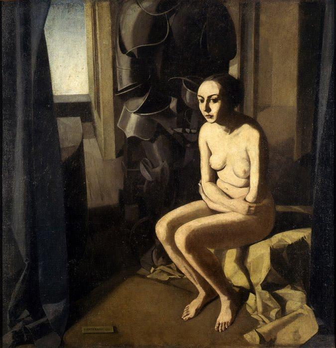 Felice Casorati Donna e armatura Galeria d Arte Moderna, Turin, 1921