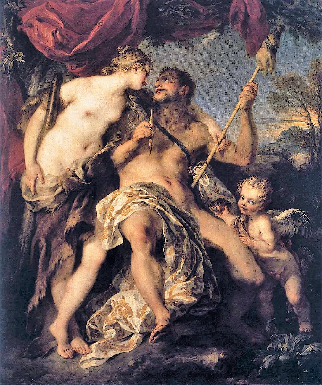 François_Lemoyne 1723 Hercule et Omphale Louvre