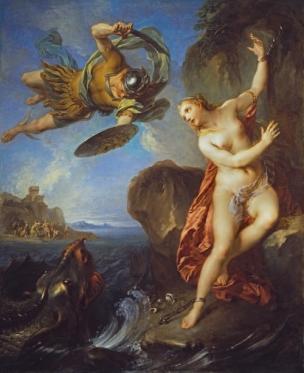 François_Lemoyne 1723 Perseus_and_Andromeda_-_WGA12656 Wallace Collection