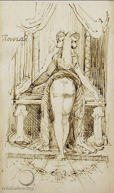 Fussli Callypiga 1790-1800 coll privee