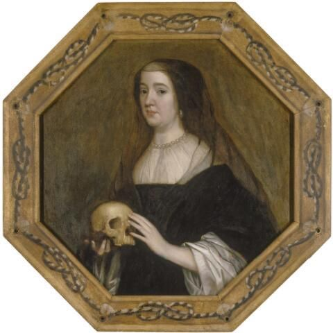 Gerard van Honthorst - attr 1650 ca Princess Amalia van Solms Collections royales, La Haye 85cm x 83