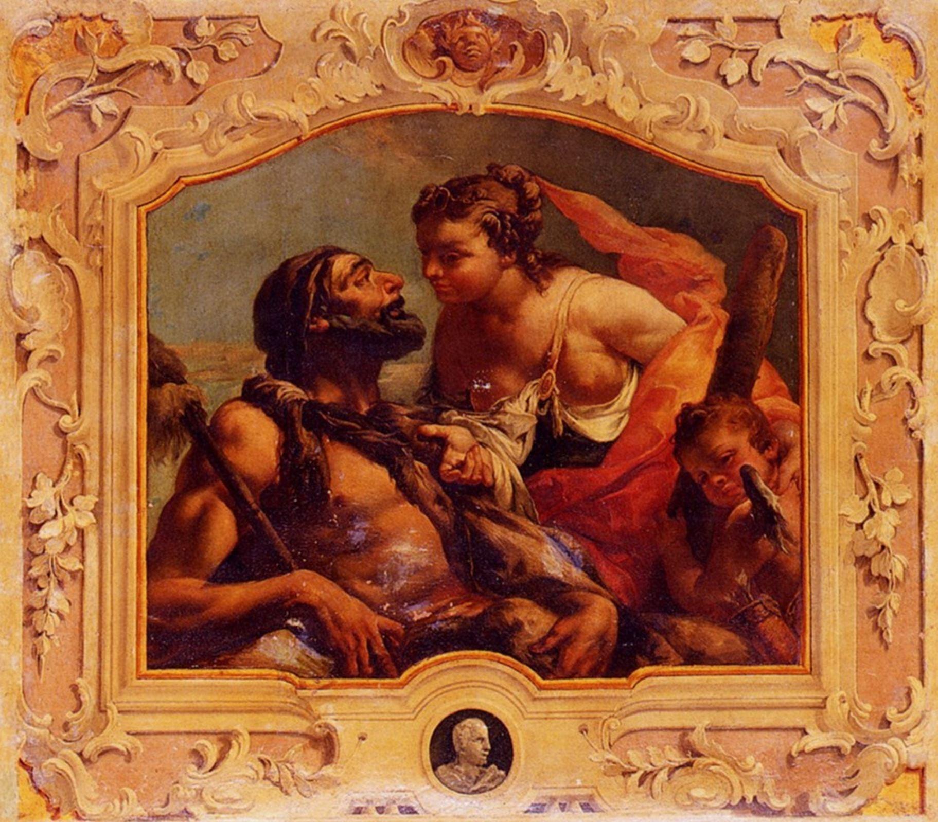 Guarana Jacopo Hercules And Omphale
