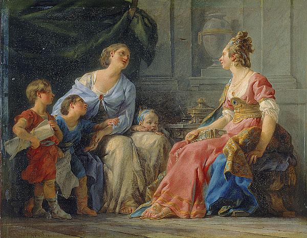 Halle 1779 Cornelie Mere des Gracque Musee Fabre Montpellier