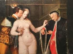 La femme entre deux ages musee de Rennes