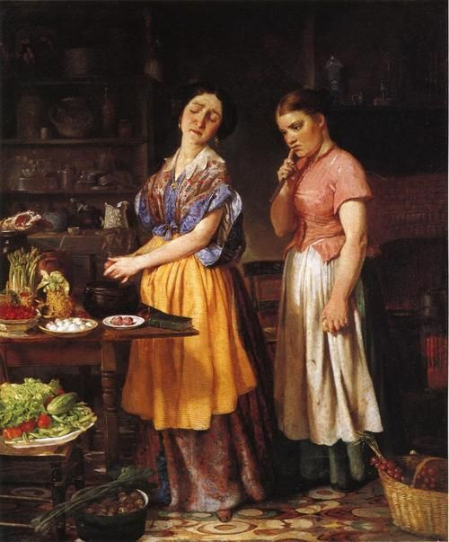 Lilly Martin Spencer 1854 The Young Wife First Stew MET