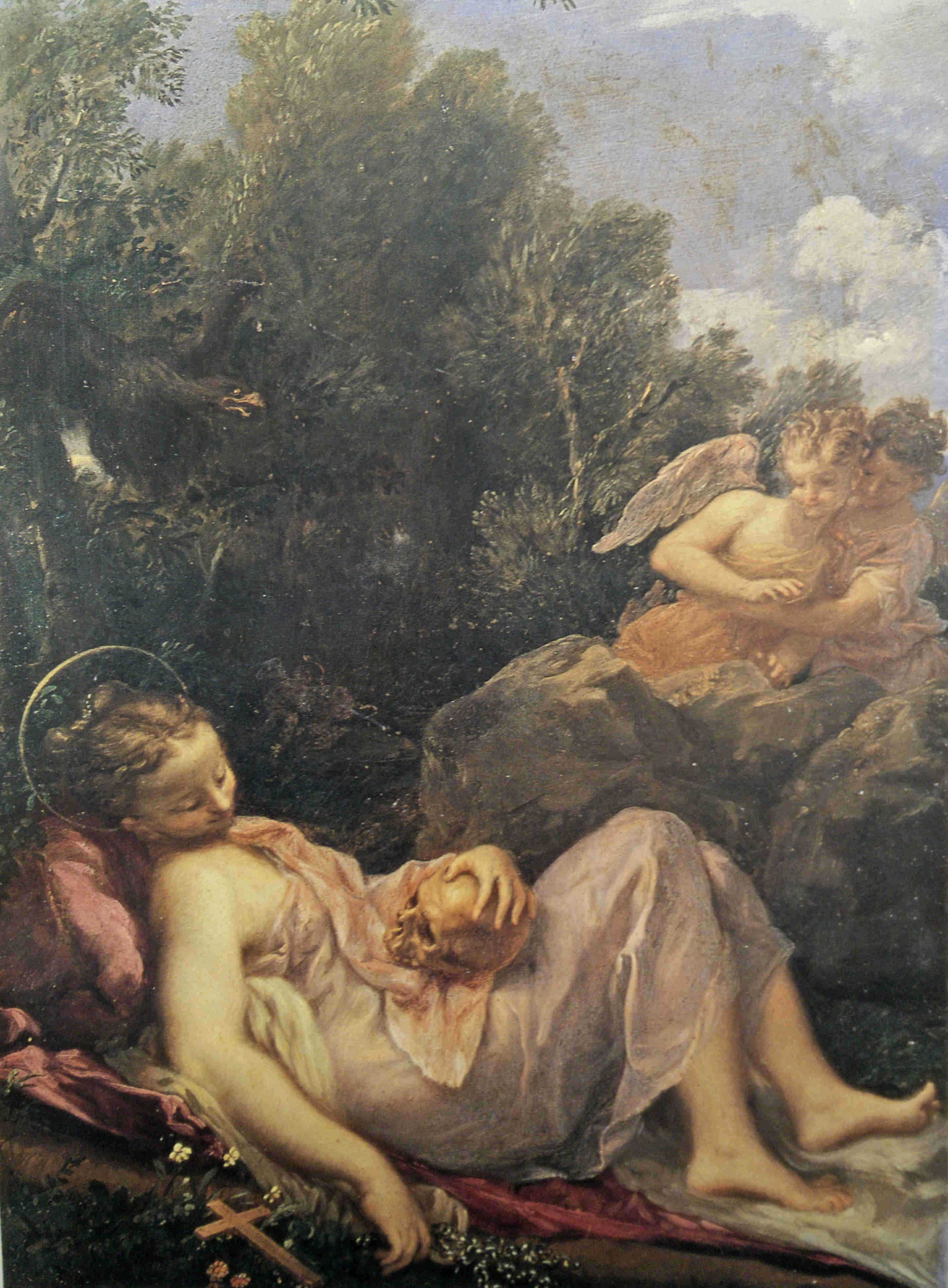 Livio Mehus Maddalena Asteria vers 1660 Palais Pitti Florence
