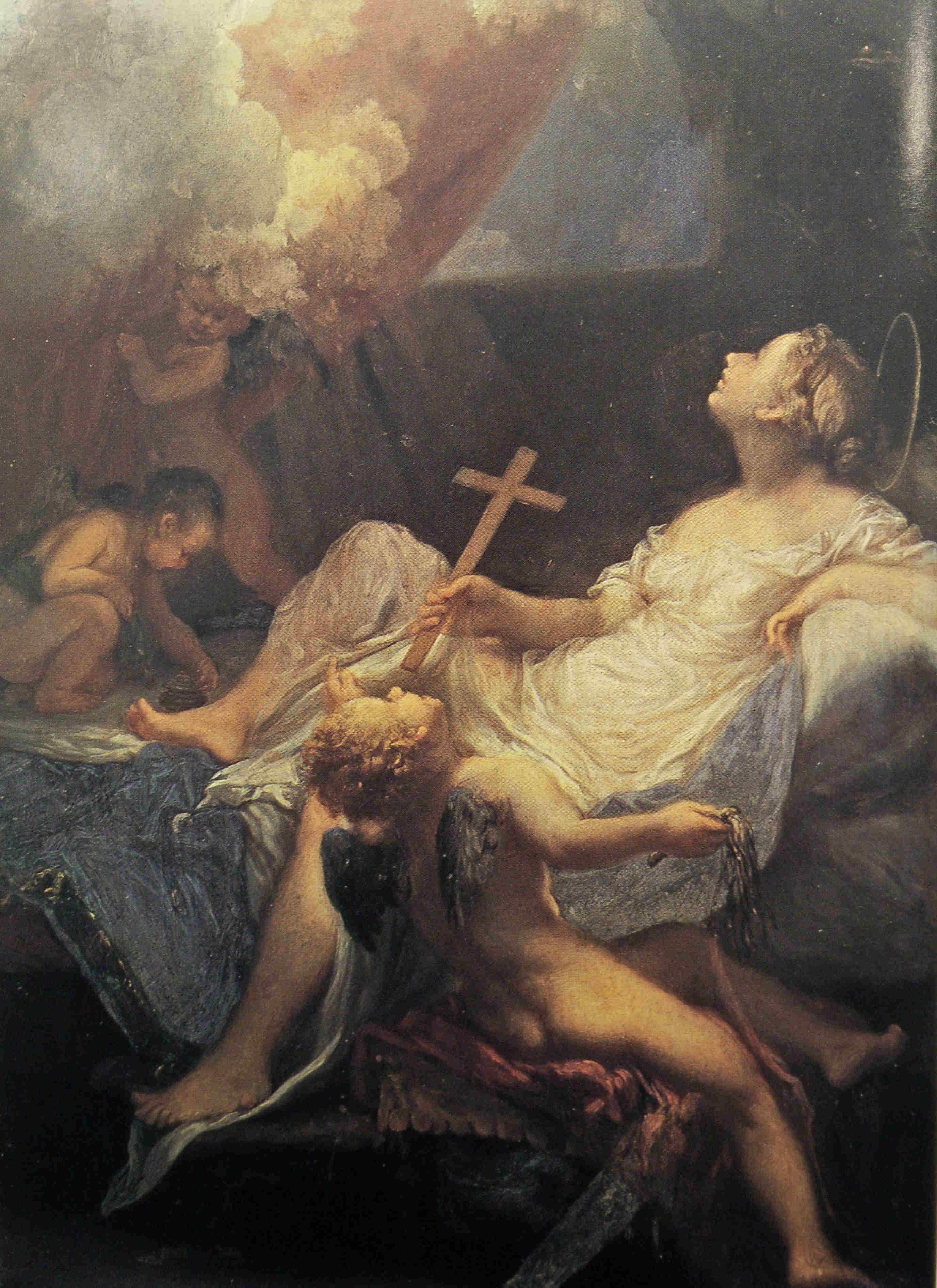Livio Mehus Maddalena Danae vers 1660 Palais Pitti Florence