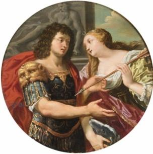 Louis de Boullogne l'Aine Cephale et Procris,musee des beaux-arts de Caen 1