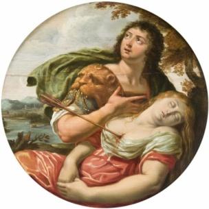 Louis de Boullogne l'Aine Cephale et Procris,musee des beaux-arts de Caen 2