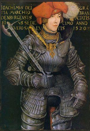 Lucas Cranach l'Ancien. Joachim II - prince electeur 1520 Jagdschloss Grunewald