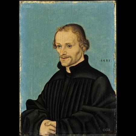 Lucas-Cranach-l'ancien 1532 Melanchton Staatliche Museen zu Berlin, Gemaldegalerie