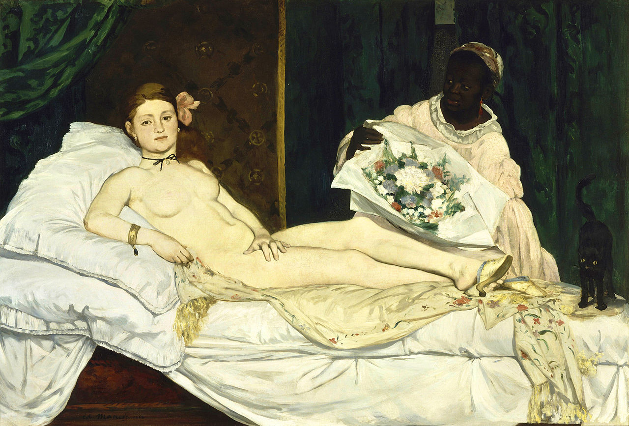 OLYMPIA manet 1863 Musee Orsay