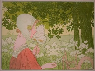 PRIVAT-LIVEMONT LA Fileuse. - 1904