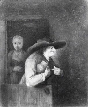 Philip Koninck 1650 ca Couple de cocus 1