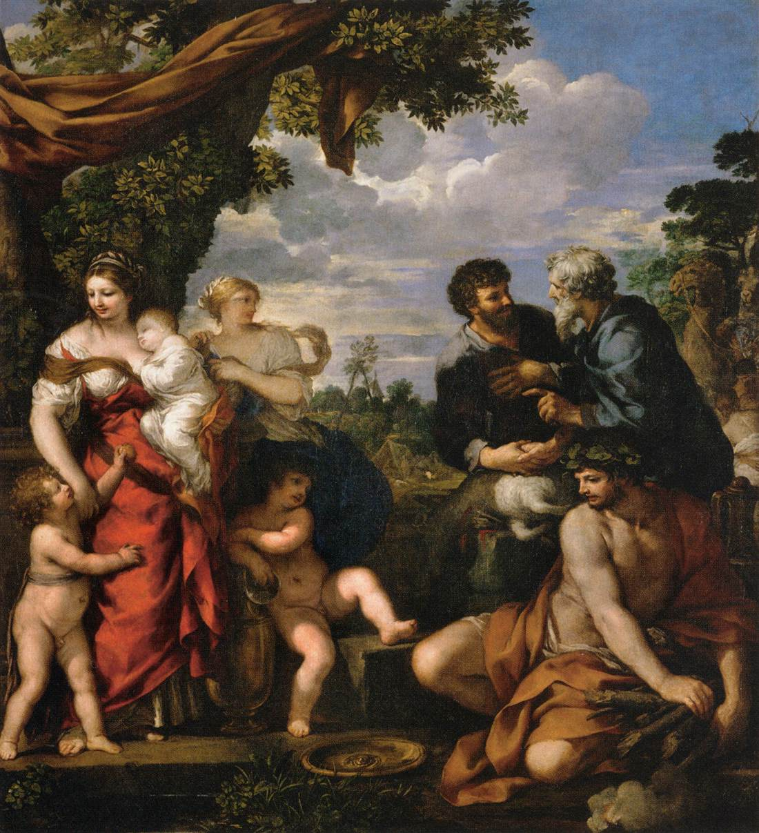 Pietro da Cortona 1630–35 Alliance_of_Jacob_and_Laban Louvre