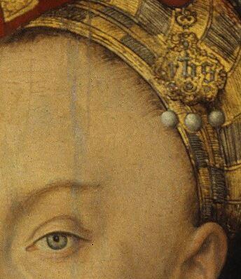 Portraits-Of-Henry-The-Pious-Renaissance-Lucas-Cranach-the-Elder detail bijou femme IHS