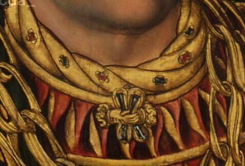 Portraits-Of-Henry-The-Pious-Renaissance-Lucas-Cranach-the-Elder detail bijou homme