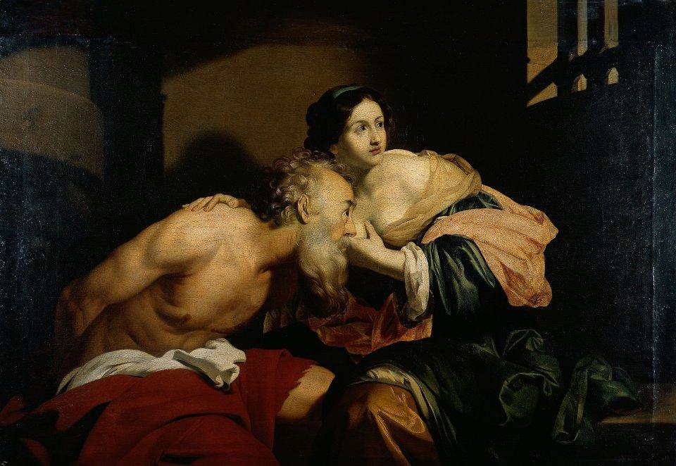 Regnier 1640 ca La charite romaine Herzog Anton Ulrich Museum Braunschweig