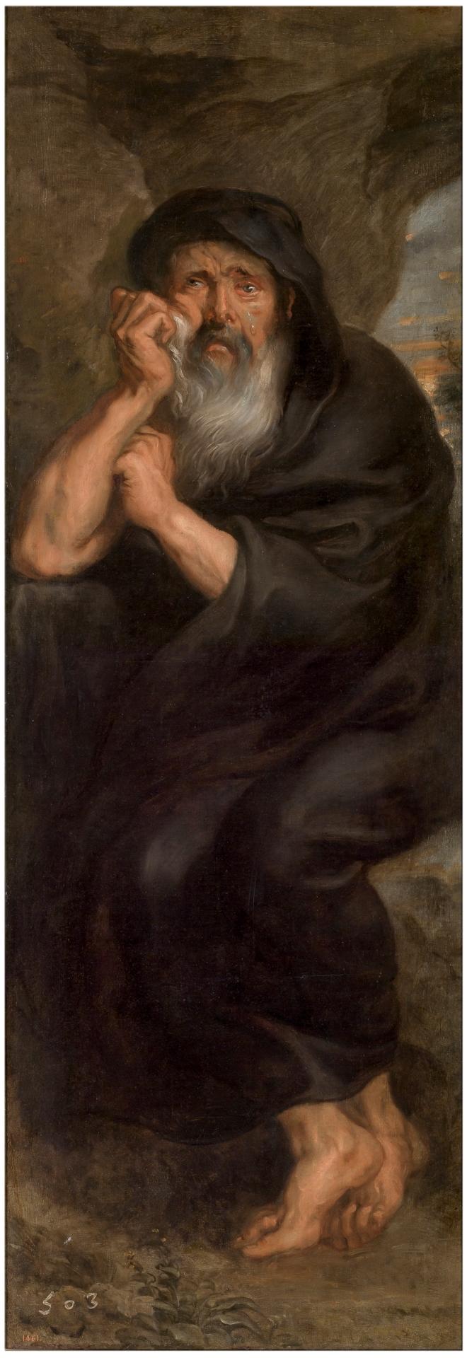 Rubens 1636-38 Heraclite Prado
