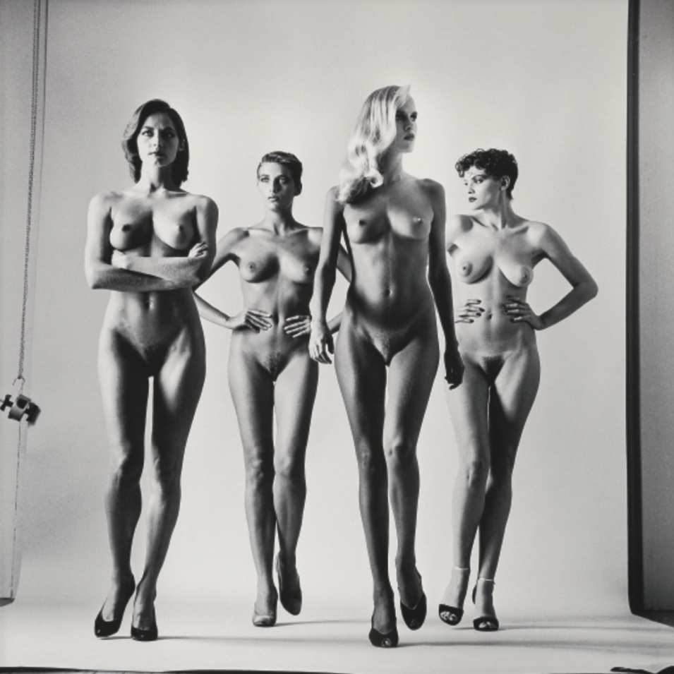 Sie kommen (Naked and Dressed) Helmut Newton, 1981 naked