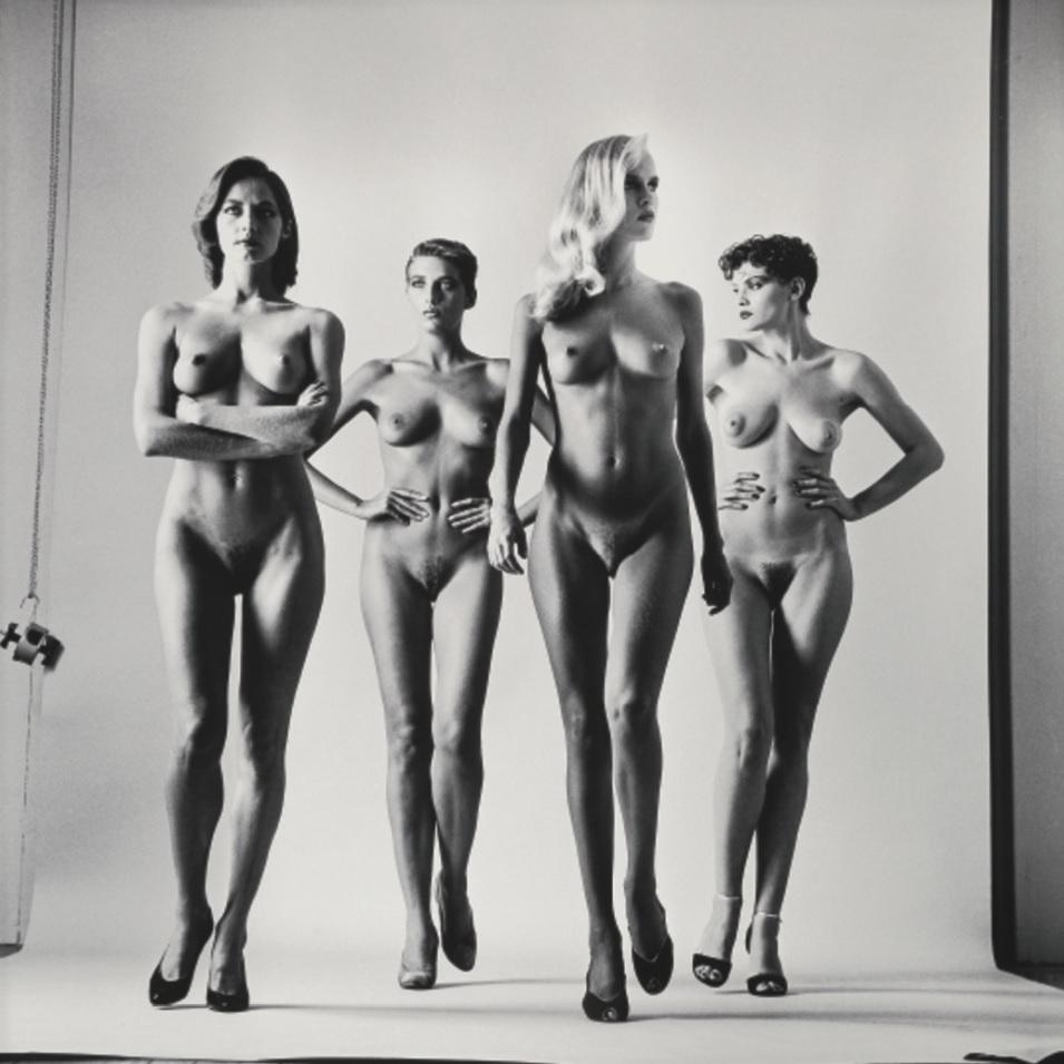 Sie kommen (Naked and Dressed) Helmut Newton, 1981 naked