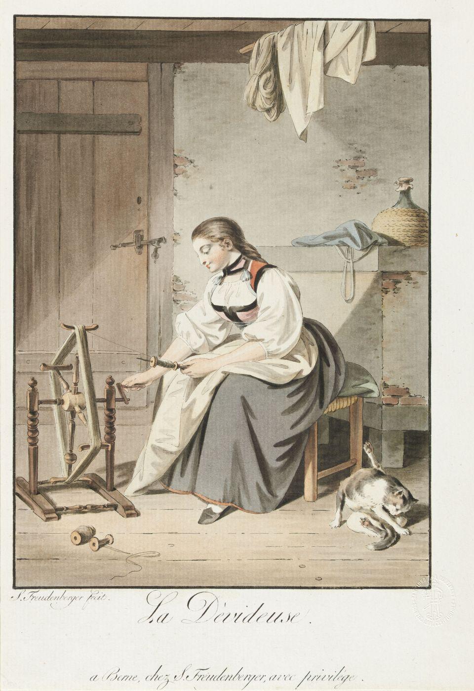 Sigmund Freudenberger 1794 La devideuse