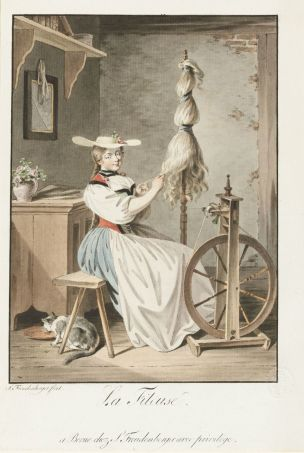 Sigmund Freudenberger 1794 La fileuse