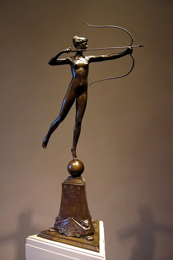 St-Gaudens, Diana for Tower 1899