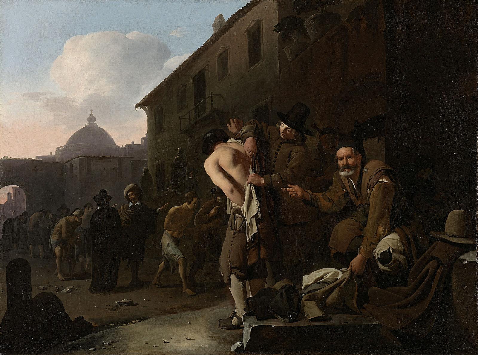 Sweerts De_naakten_kleden_Rijksmuseum_SK-A-2847-1646-49